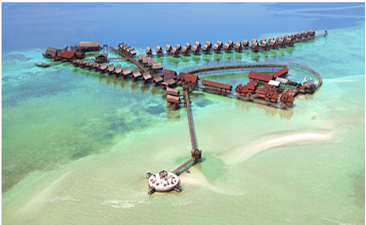 Kapalai Island Beach
