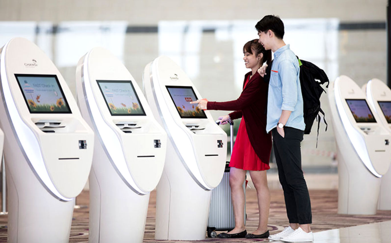 An All New Automated Self Check-in at Changi Airport