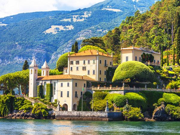 Villa del Balbianello in Lake Como