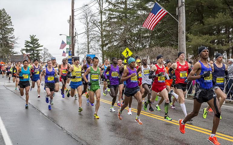 Boston Marathon, USA