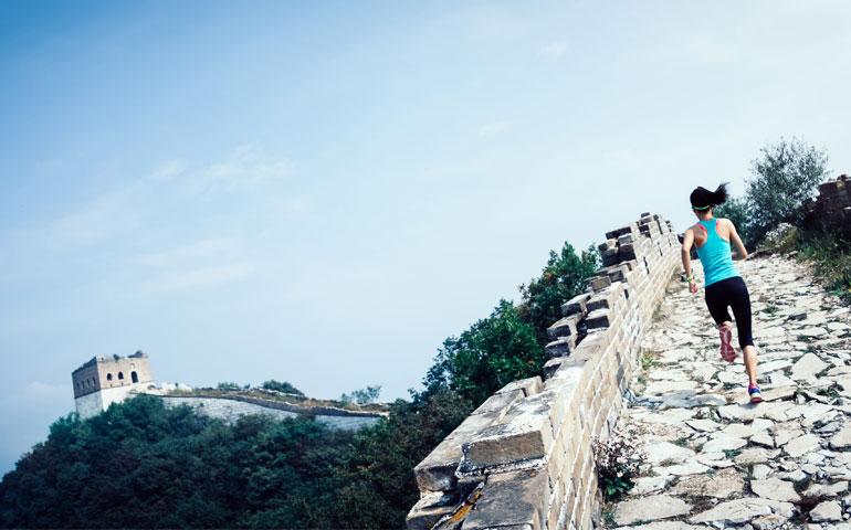 The Great Wall Marathon, China