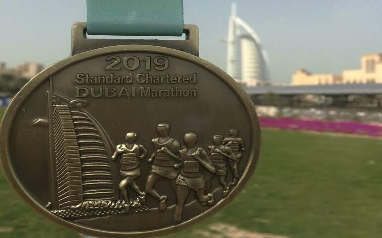 Dubai Marathon, United Arab Emirates