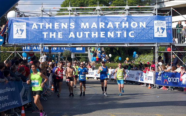 Athens Authentic Marathon, Greece