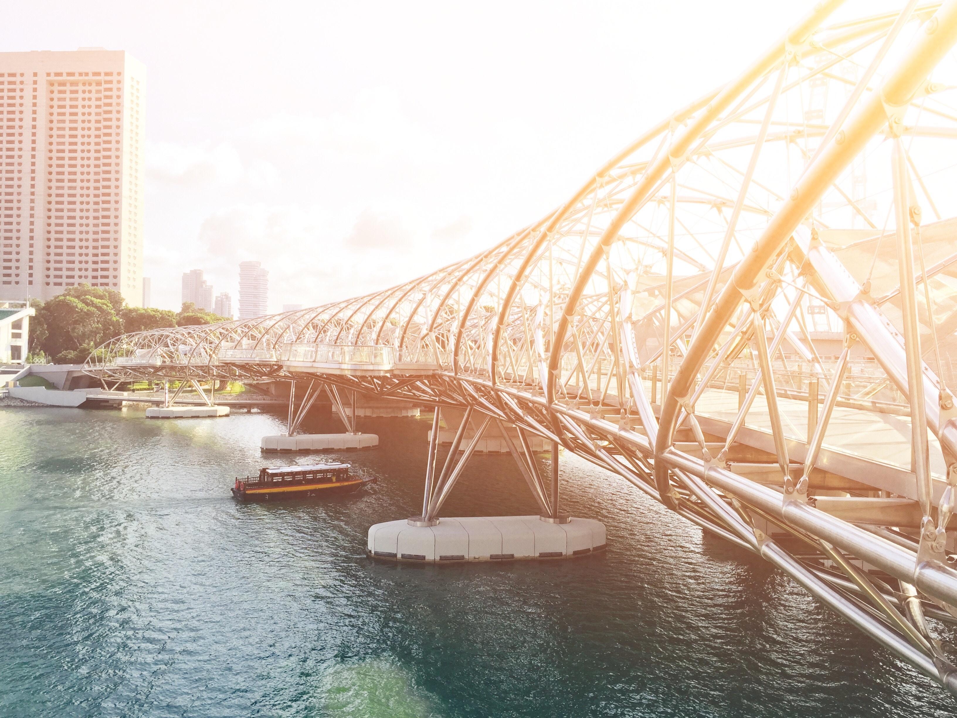 Singapore footbridge