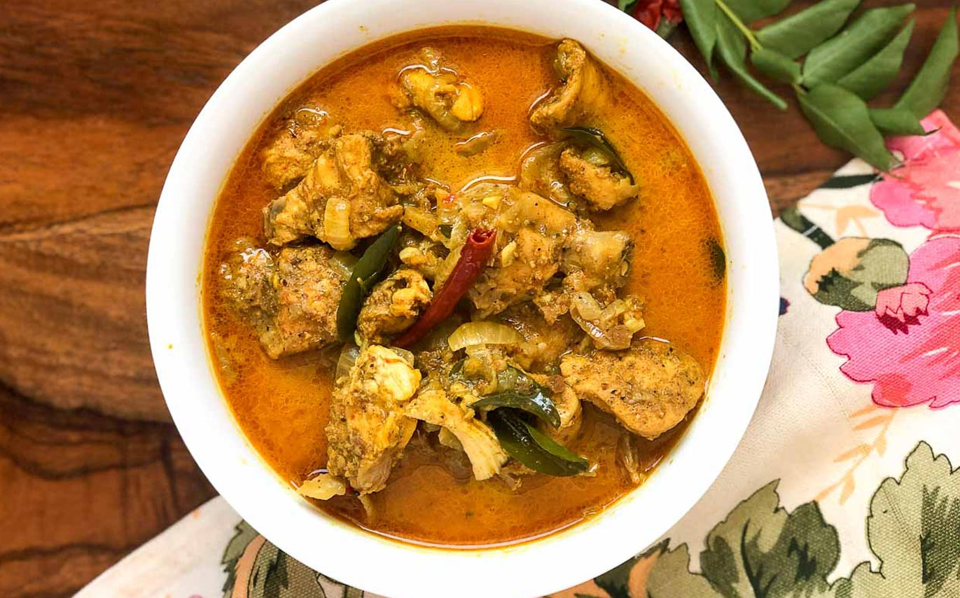 Kukul Mas Curry is a traditional chicken curry