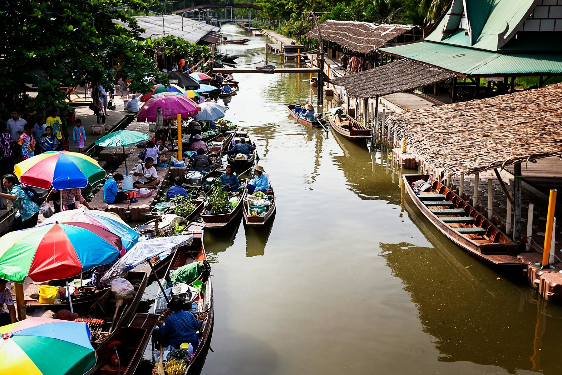 Tha Kha- Best Floating Market in Bangkok
