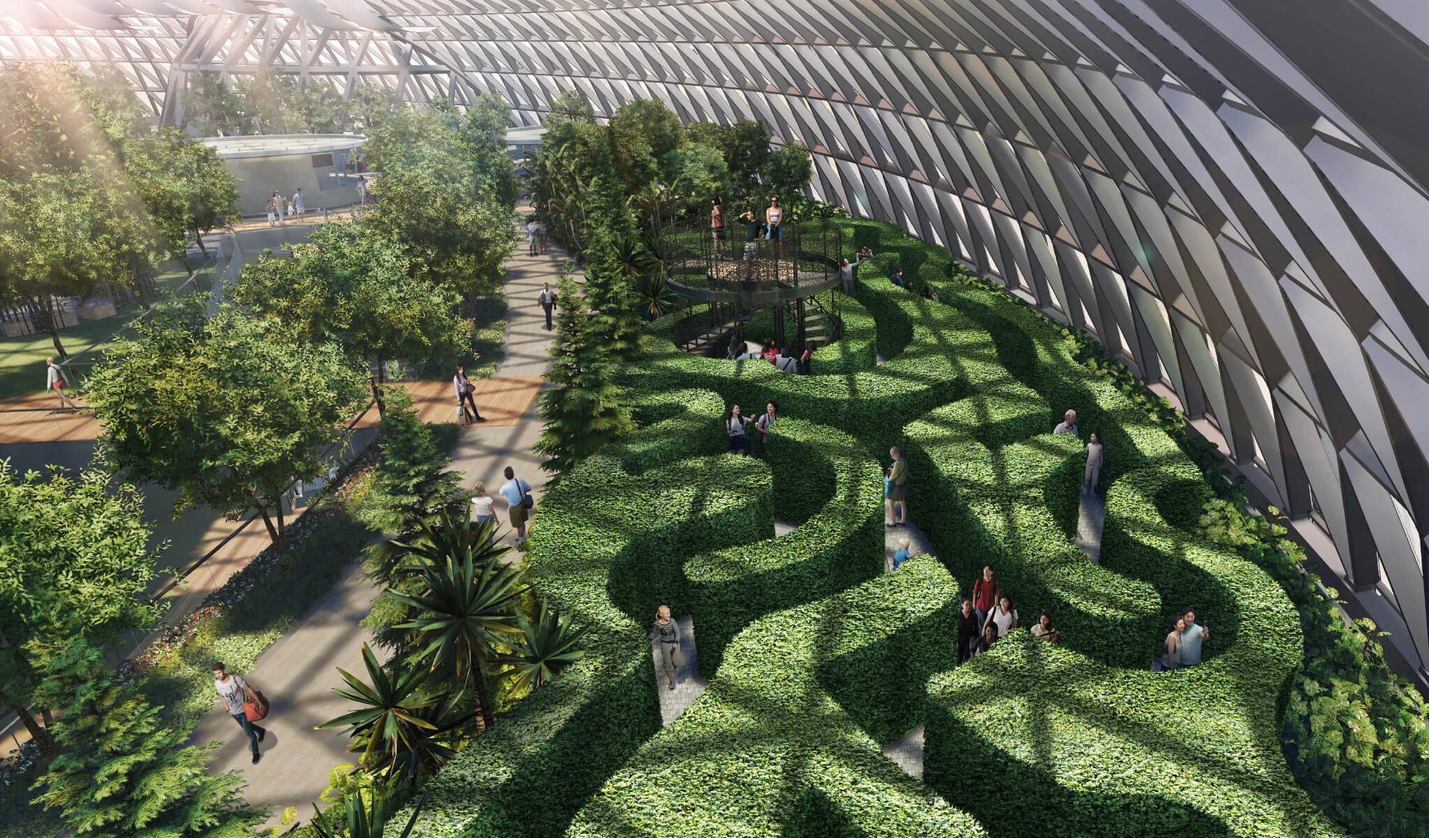 The Maze at Changi Airport via Straits Times