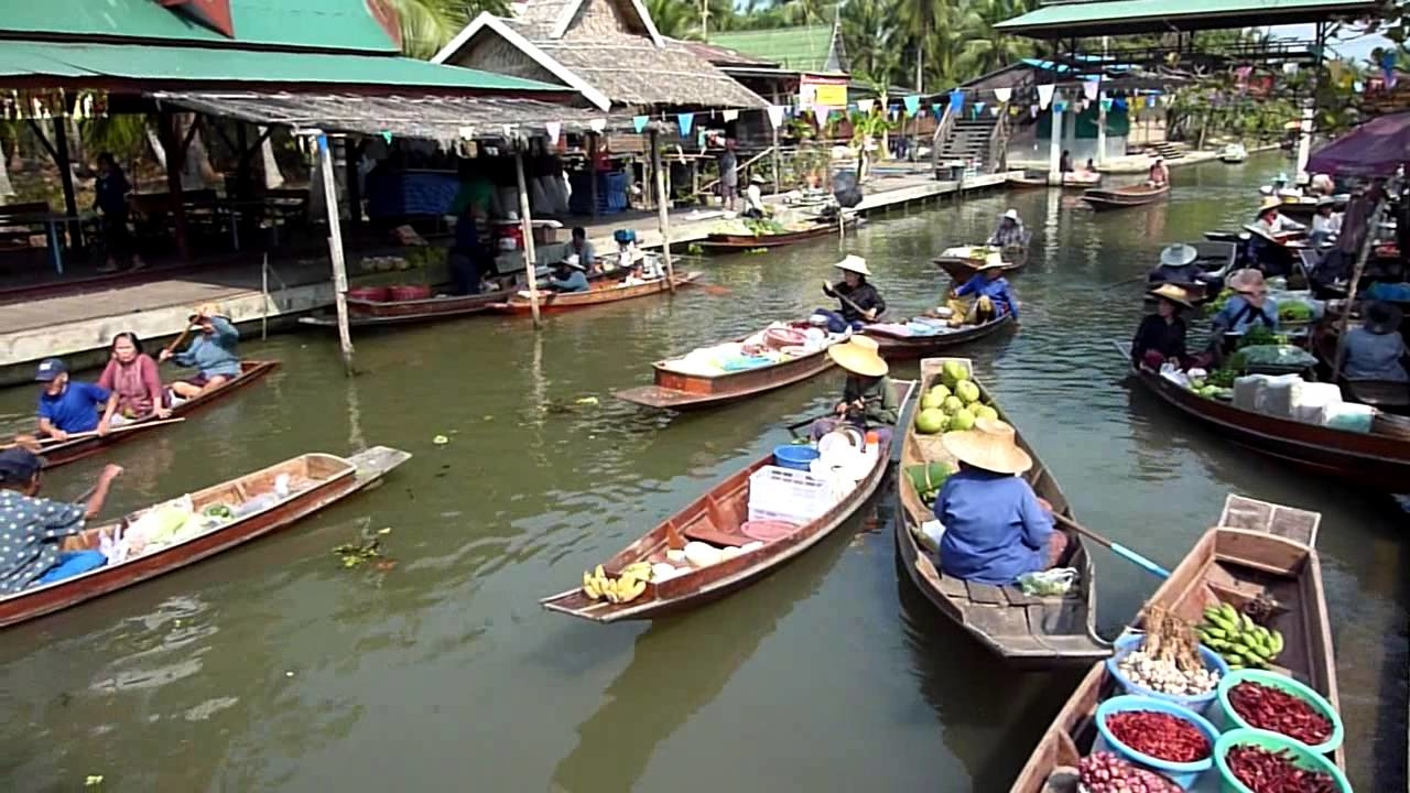 Bang Phli Best Floating Market in Bangkok