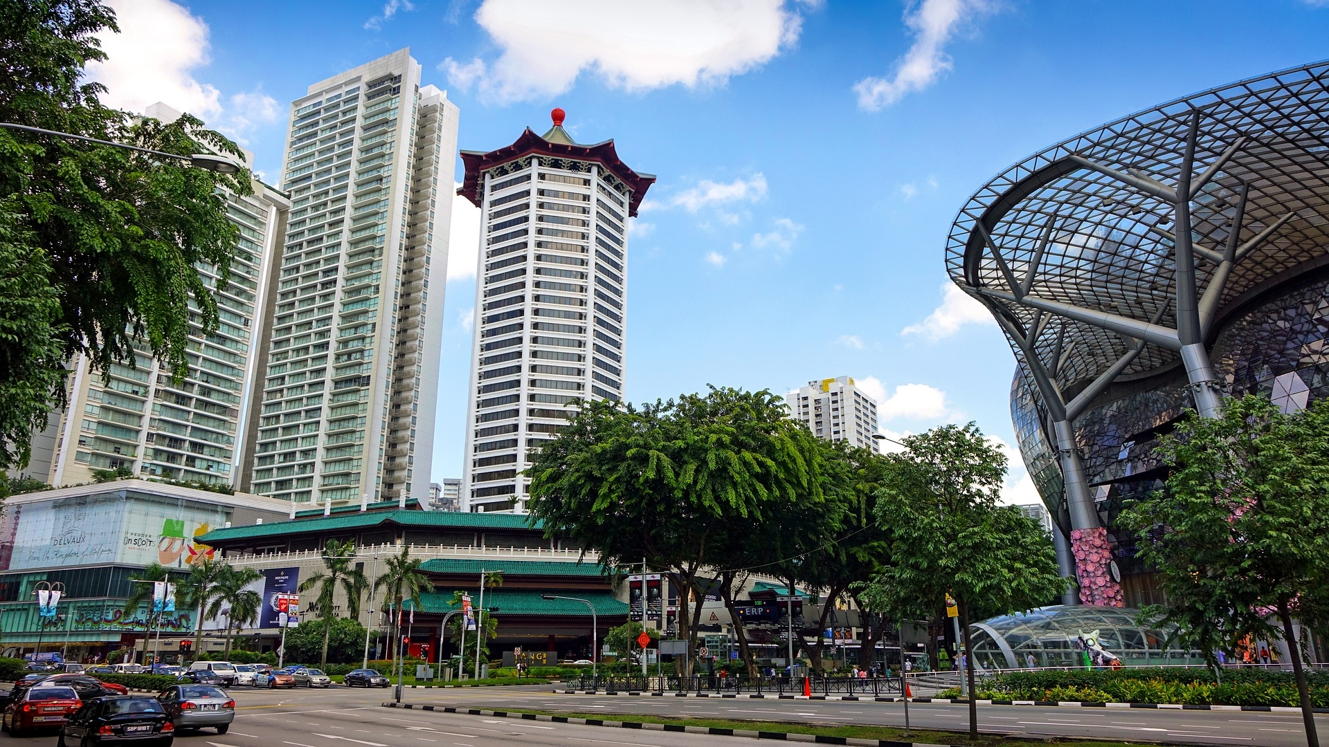 Orchard Road: The city's biggest shopping destination.