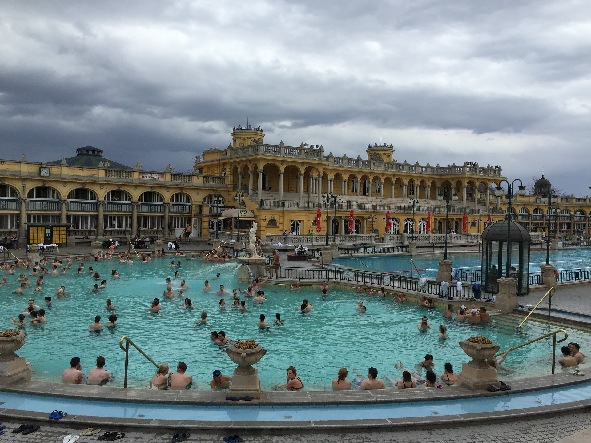 Széchenyi Baths, Hungary