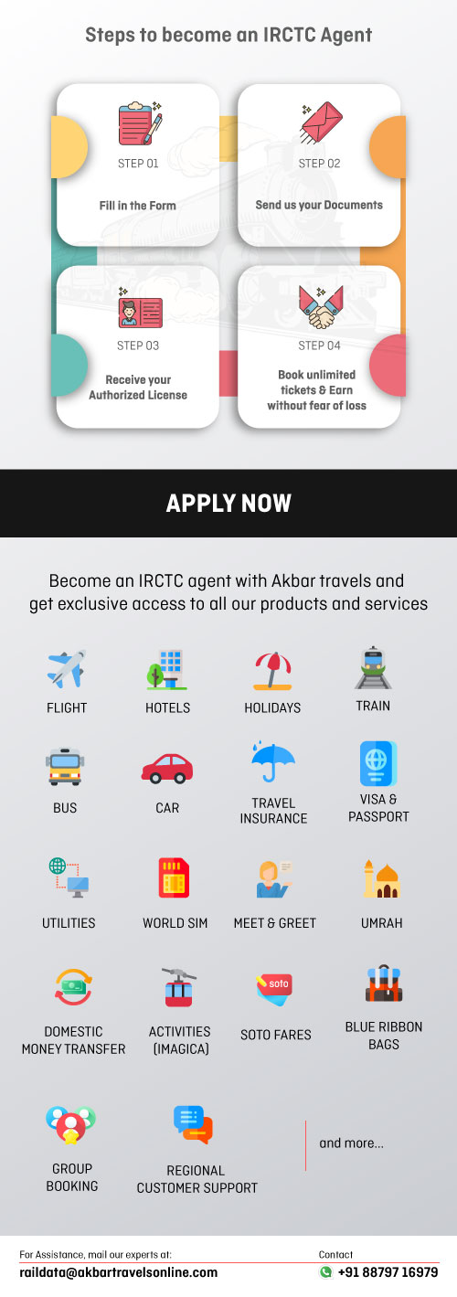 How to become an IRCTC Agent