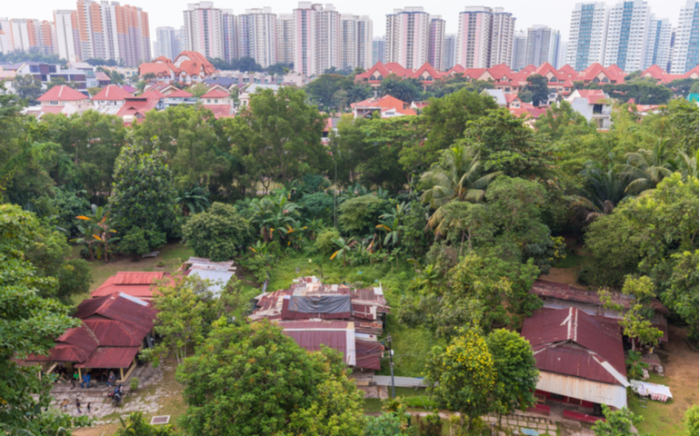 Singapore Kampung Lorong Buangkok