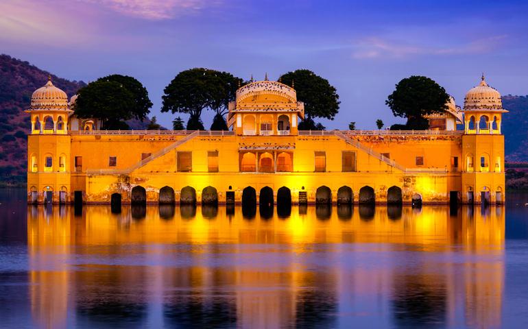 Jal Mahal Water Palace, Rajasthan