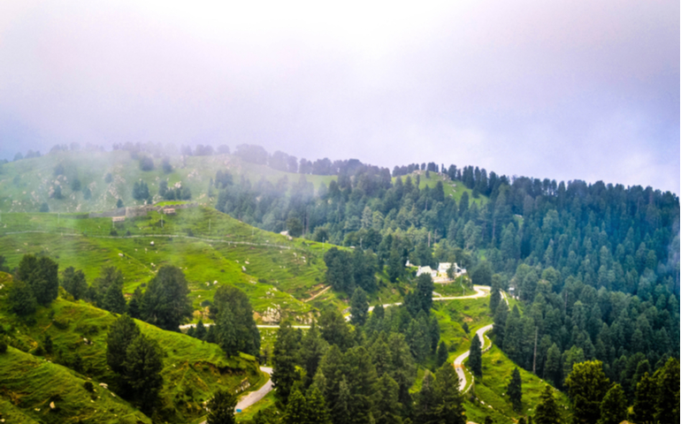 Khajjiar Hill Station of Himachal Pradesh