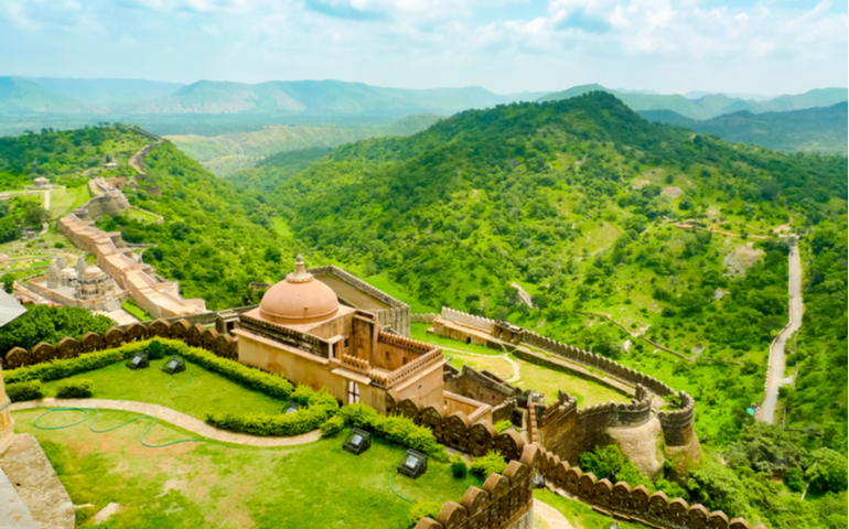 Great Wall of India, Kumbhalgarh Fort of Rajasthan