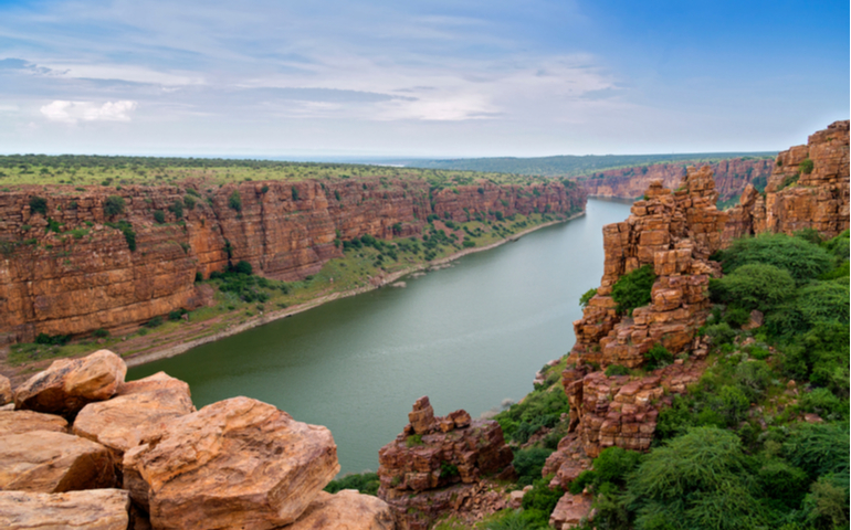 Gandikota Gorge of Andhra Pradesh