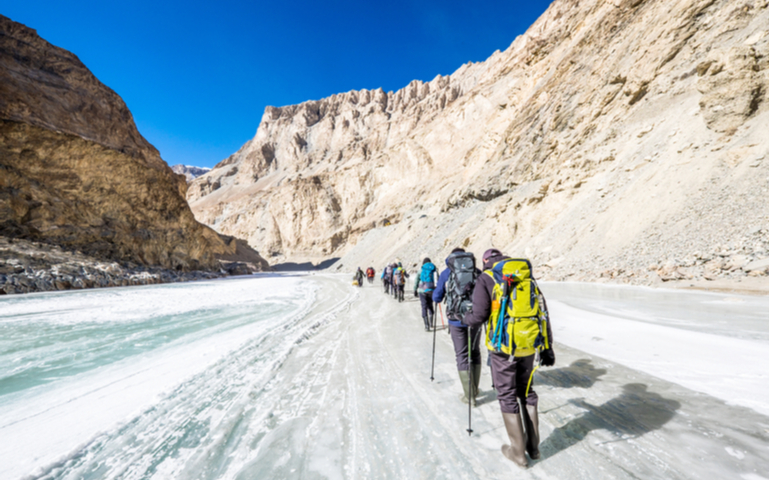 Breathtaking Trekking in Ladakh