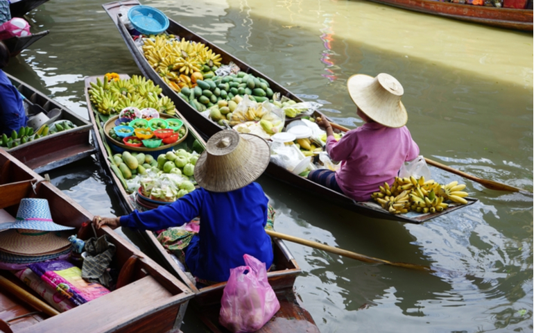 Floating Market of Bangkok