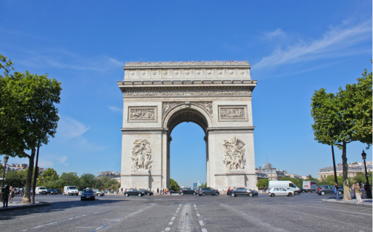 Art de Triomphe of France