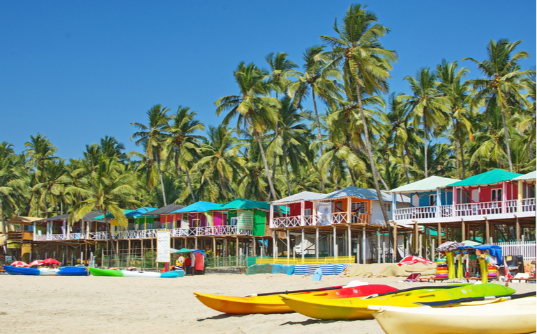Vibrant Beaches of Goa