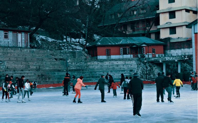 Ice Skating in Shimla