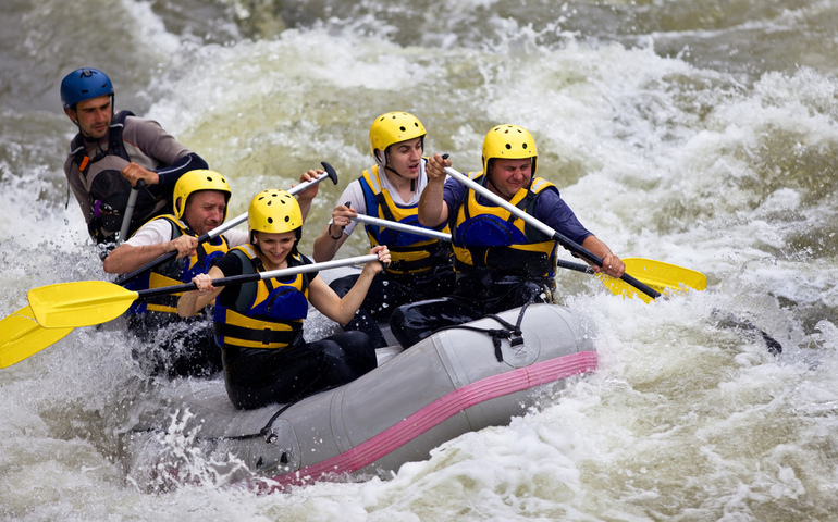 River Rafting in Manali, Himachal Pradesh